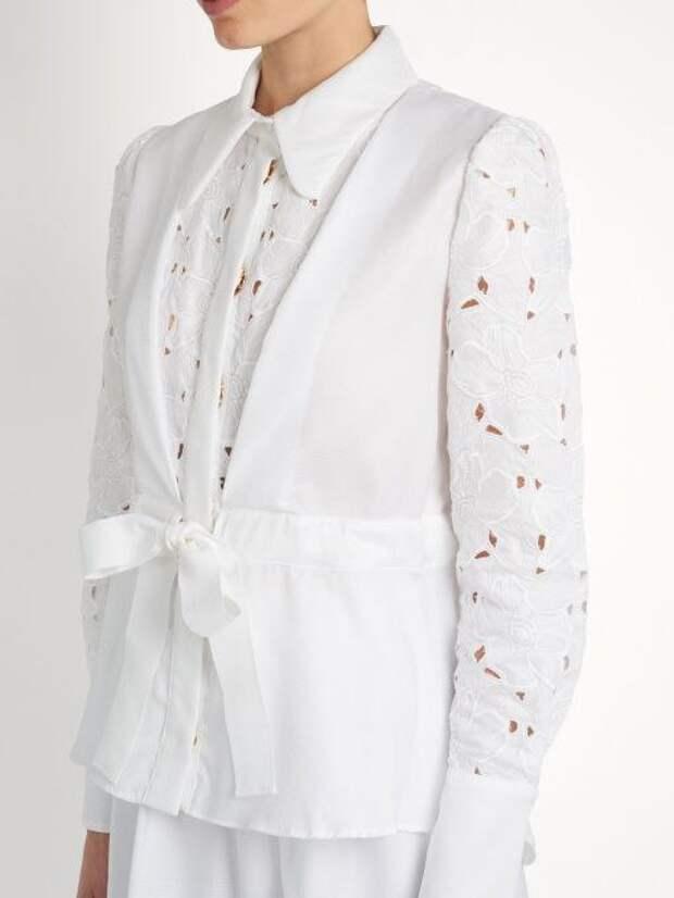 40 интересных блузок