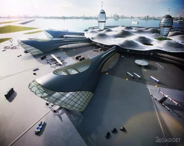 Японцы разработали концепцию космопорта будущего