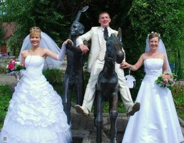 Прикольные свадебные торжества 9