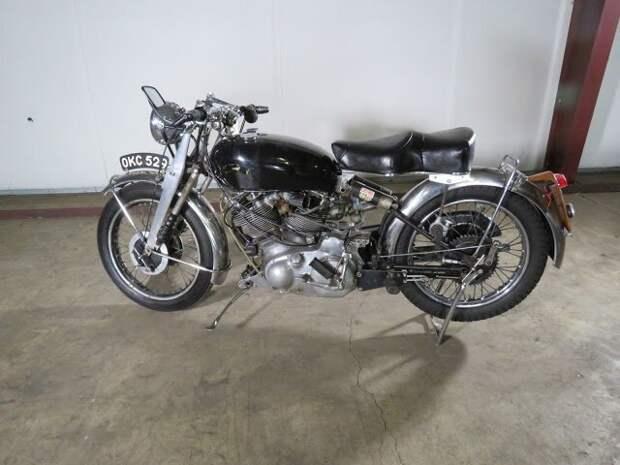 1952 Rare Vincent Series C Rapide Motorcycle Вот это ДА, винтажные авто, гоночные автомобили, интересно, коллекция авто, коллекция автомобилей, мотоциклы, раритетные автомобили