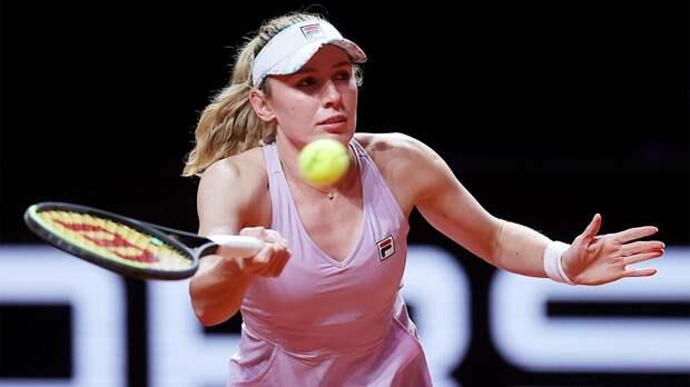 Александрова вышла в третий «Мастерса» в Риме после отказа соперницы