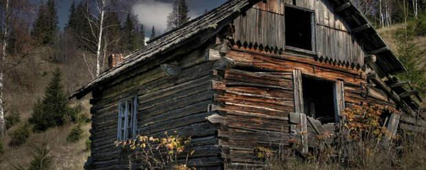 Страшная история «Дом в овраге»