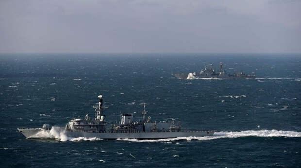Корабли ВМС Британии останутся у берегов Джерси вопреки протестам Франции