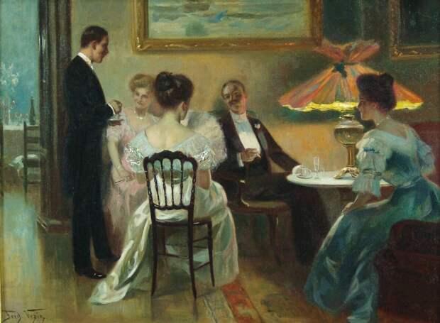 История возникновения гостиной