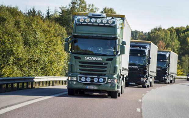 Грузовиками Scania можно будет управлять с мобильника