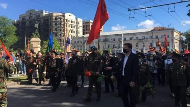 ВМолдавии День Победы отмечают подвойным стандартам