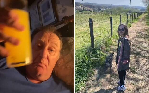 Пожилой мужчина избавился от алкогольной зависимости ради общения с внучкой