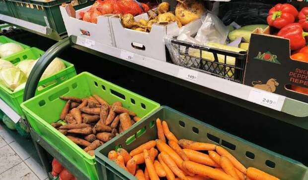 В феврале цены на огурцы и морковь в Оренбуржье существенно выросли
