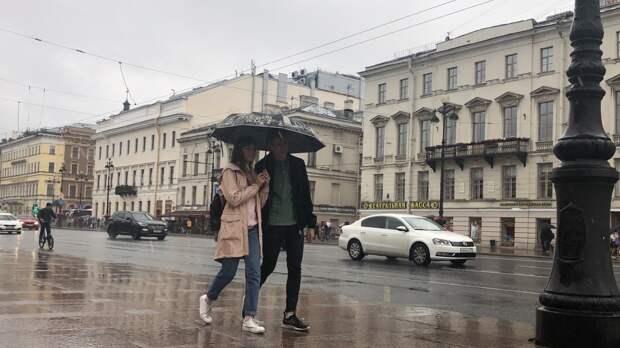 В Петербурге 19 мая ожидаются грозовые ливни