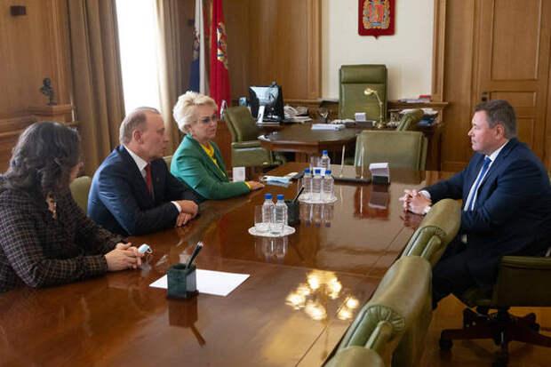 Спикер Законодательного Собрания обсудил с руководством ФМБА развитие регионального здравоохранения