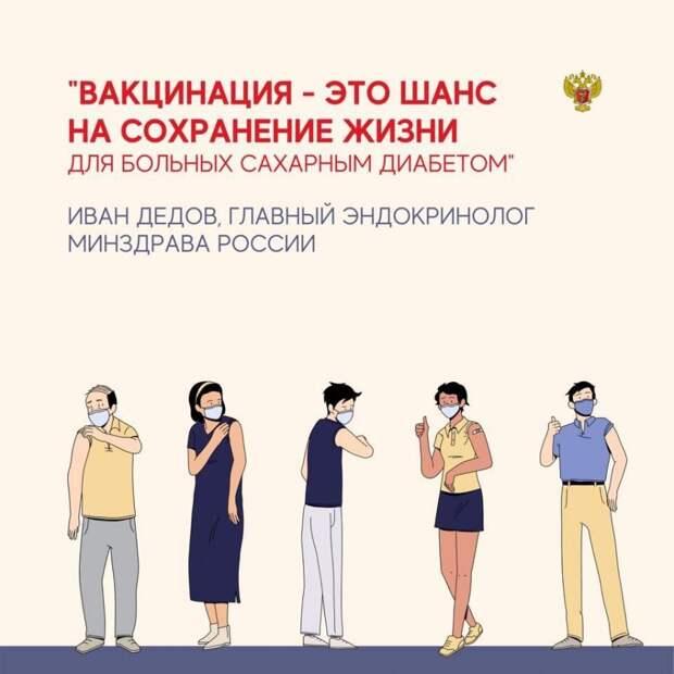 Обращение главного эндокринолога Минздрава России, академика Ивана Дедова