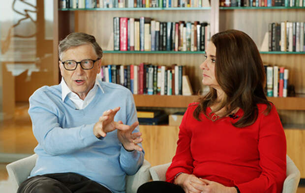 Поклонники гадают о причинах внезапного развода Билла и Мелинды Гейтс