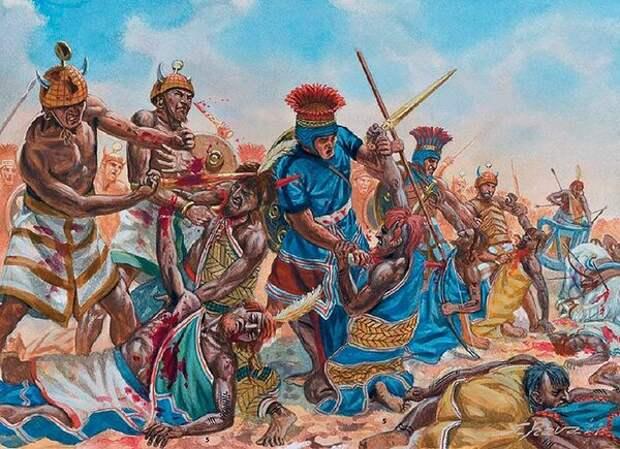 Народы моря - загадка древнего мира. О набегах этих загадочных народов на территории древнего Средиземноморья