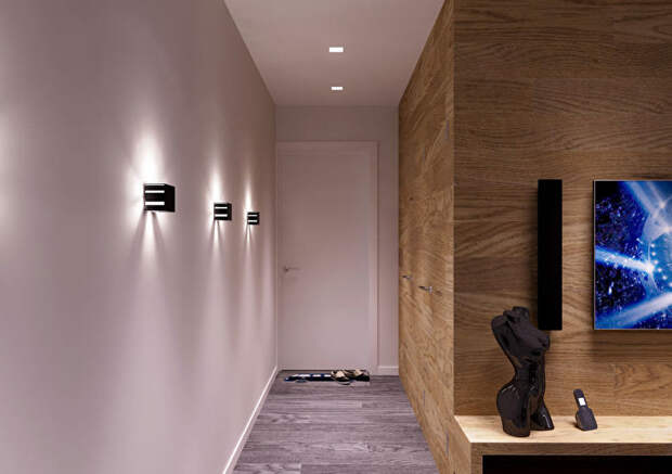 Светлая прихожая (62 фото) дизайн коридора в классическом стиле, как сделать уютным интерьер в бежев