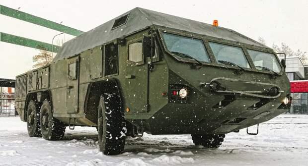 В Белоруссии завершились предварительные испытания шасси МЗКТ-692251