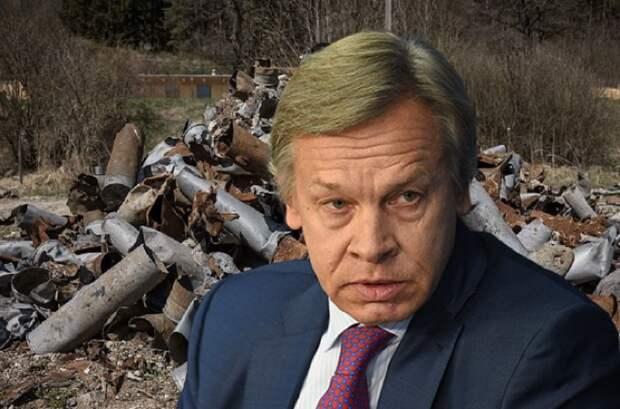 Пушков указал, где место новой версии Чехии о взрывах