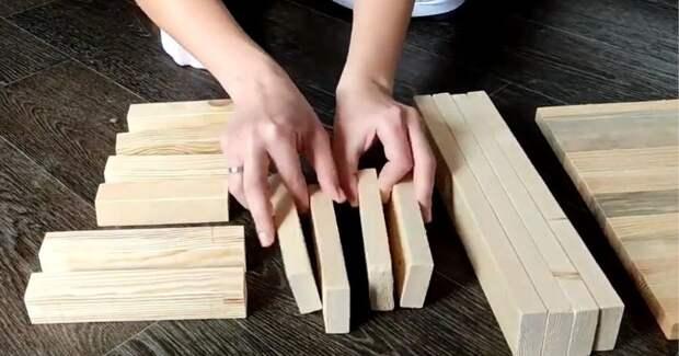 Прежде чем выбросить обрезки бруса и досок, оцените практичную идею для кухни