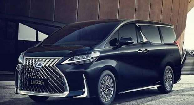 В Шанхае представили 4-местный минивэн Lexus LM в модификации 300h