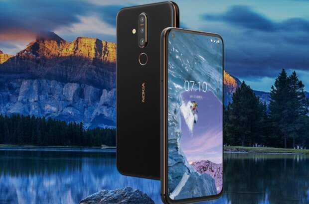 Nokia выпустит смартфон с камерой в экране