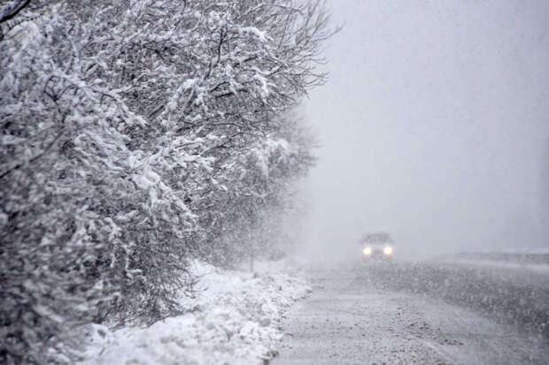 Сильный снег и гололедица вернутся в Иркутскую область 21 апреля