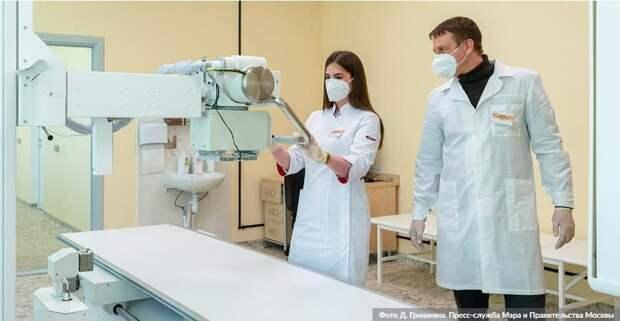 Эксперимент по внедрению технологий искусственного интеллекта в здравоохранение Москвы расширят. Фото: Д. Гришкин, mos.ru