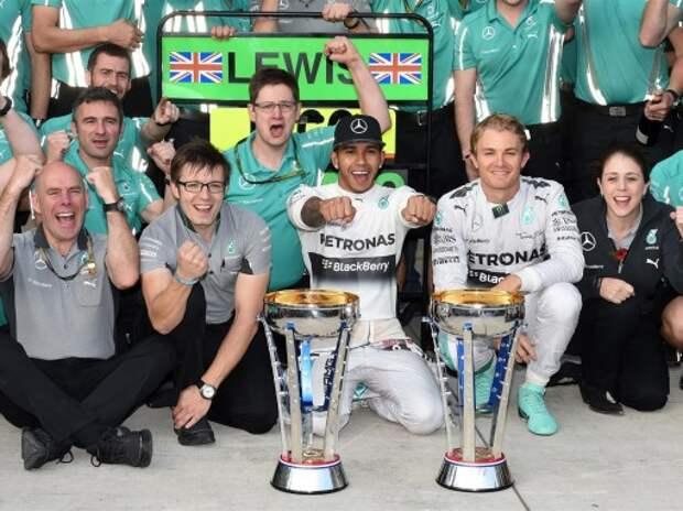 Формула 1: в лучших традициях американского шоу