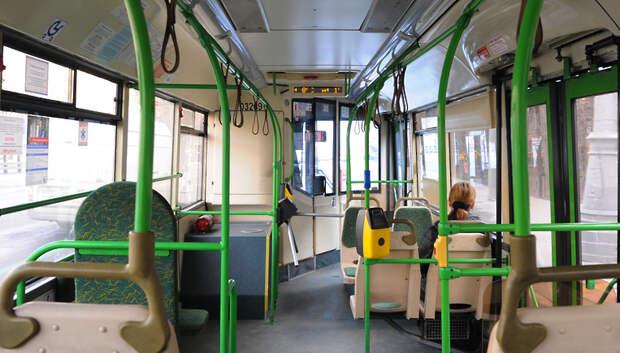 Число пассажиров в автобусах Подмосковья упало на 98%