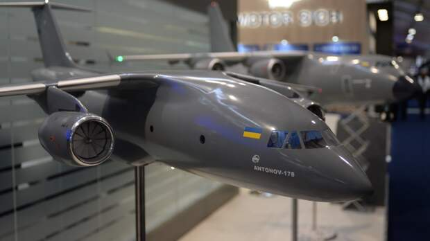 Редкий АН-178 долетит до середины Днепра!