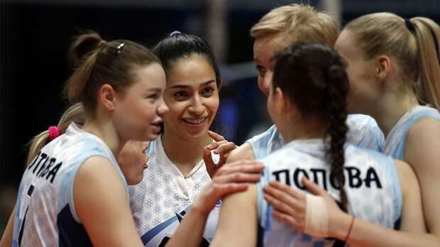 Волейболистки «Динамо-Ак Барс» выиграли регулярный чемпионат женской Суперлиги