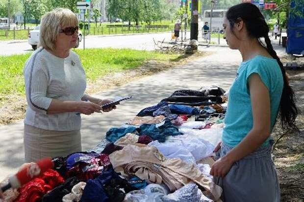 В Тамбове прошёл рейд по местам незаконной торговли