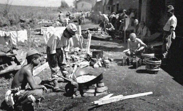 Как японские солдаты сдавались в плен