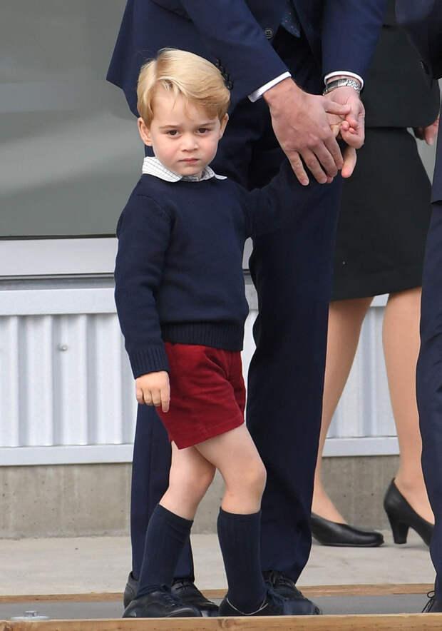 Почему Кейт Миддлтон и принц Уильям не дарят своему старшему сыну Джорджу дорогие подарки