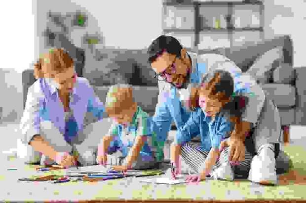 В Адыгее семьи с детьми получают дополнительную материальную помощь по нацпроекту «Демография».