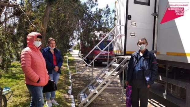 В Ленинском районе Крыма проходит акция «Поезд здоровья»