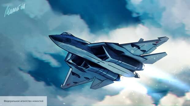 В США заметили странность на кадрах полета Су-57 в День Победы