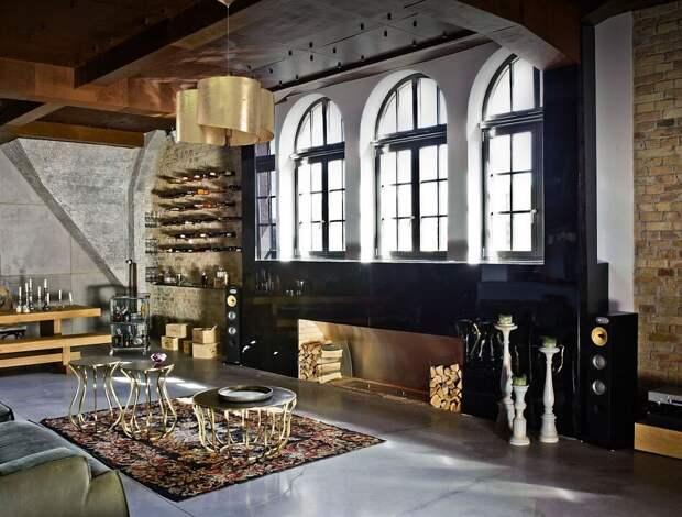 Советы по выбору мебели в стиле лофт