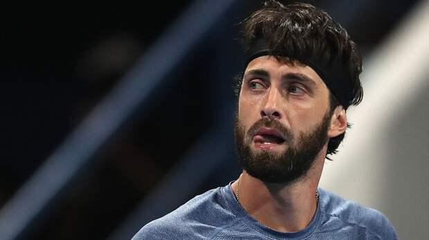 Грузинского теннисиста Басилашвили могут дисквалифицировать на длительный срок
