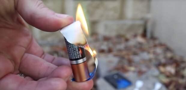 Скрытые функции обычной батарейки
