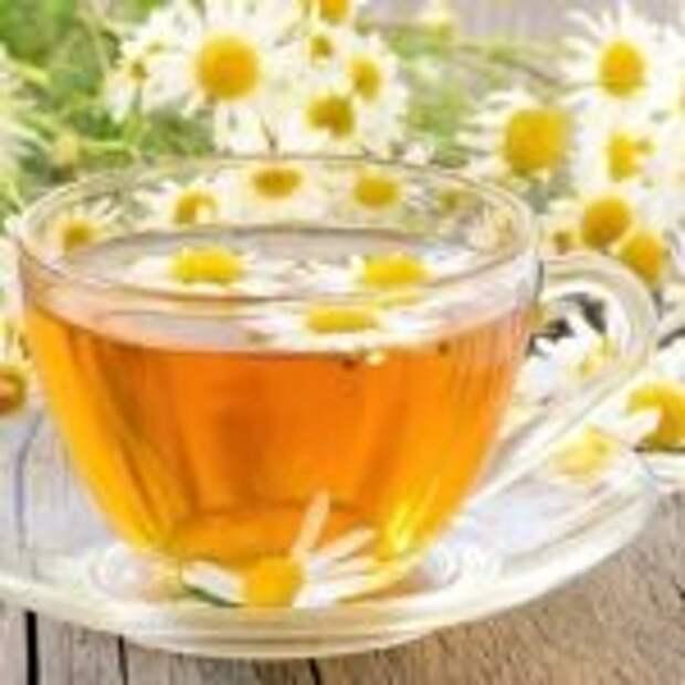 Чай с ромашкой.