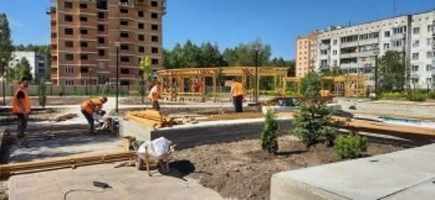 В пяти микрорайонах Калуги появятся благоустроенные скверы и площадки