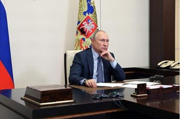 Путин ответил на вопрос о покушении на Навального