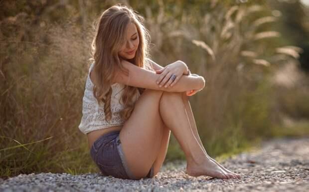 Самые красивые девушки летом в белых и джинсовых шортах - Частные ...