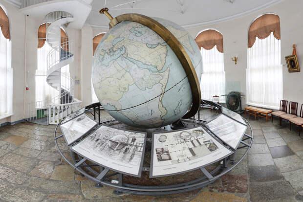 В Кунсткамере создадут виртуальную копию одного из первых глобусов–планетариев