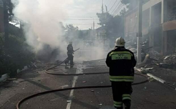 Молодой человек погиб в результате взрыва в гостинице Геленджика