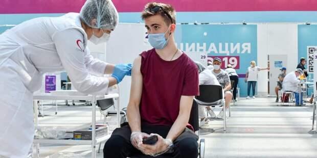 Собянин: Программы стимулирования вакцинации в Москве будут продолжены