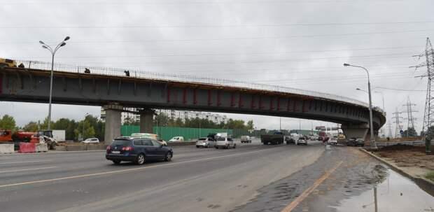 Началась реконструкция транспортной развязки МКАД с улицей Липецкая