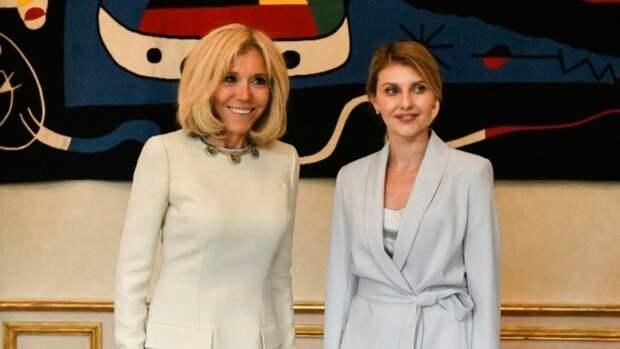 Зеленская рассказала, за чей счет регулярно обновляет гардероб