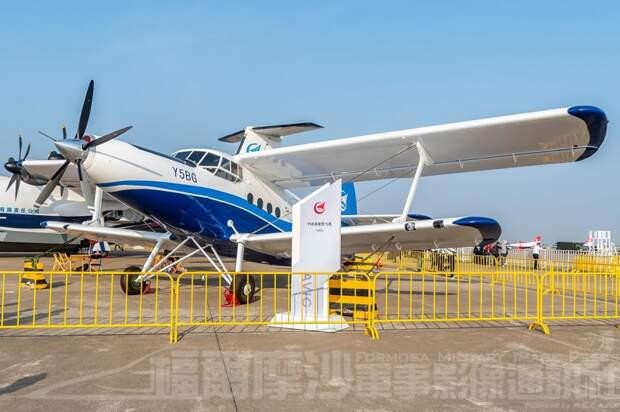 Сообщается о поставке в Россию десяти китайских самолетов Y5B (копии советского самолета Ан-2)