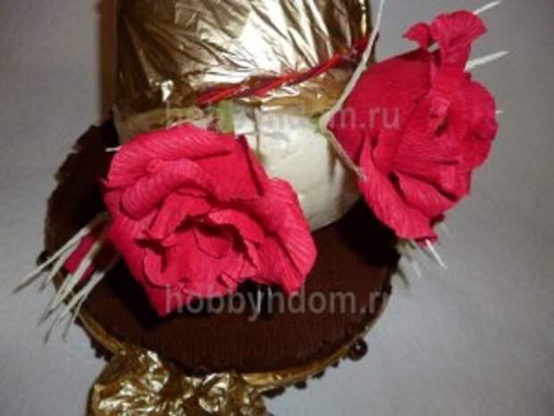 рог изобилия из конфет (10)