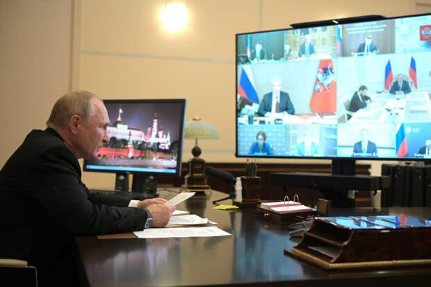Путин заявил о восстановлении экономики России после коронавируса